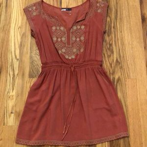 Theme Brand Embroidered Dress